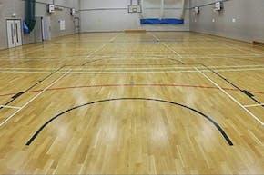 School 21 | Hard Badminton Court