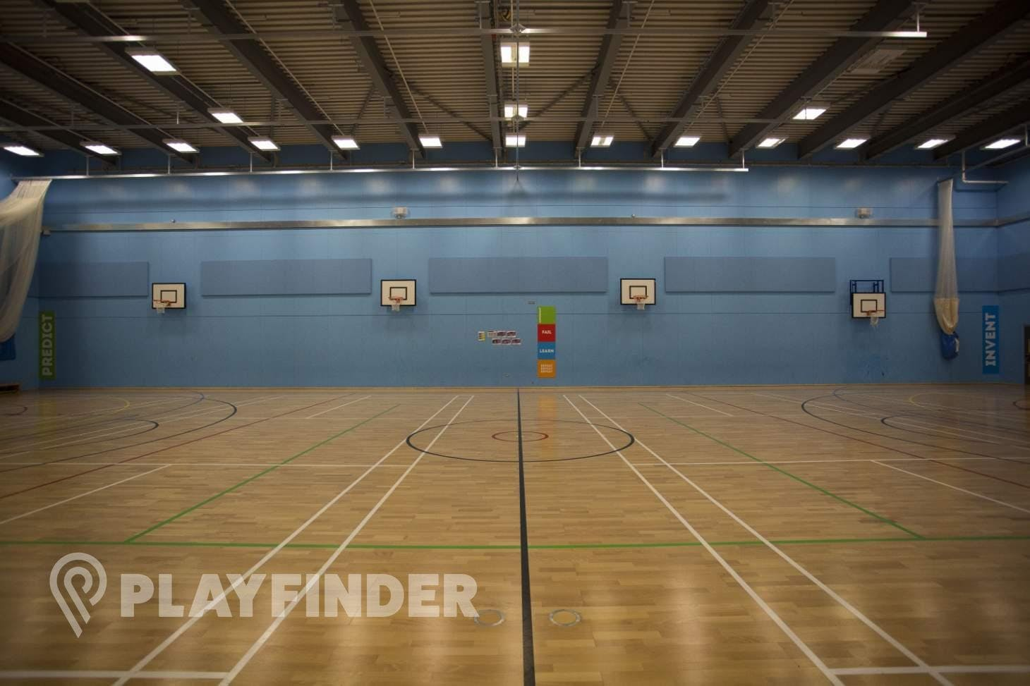 Crest Academy Indoor basketball court