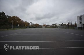 The Harefield Academy   Concrete Tennis Court