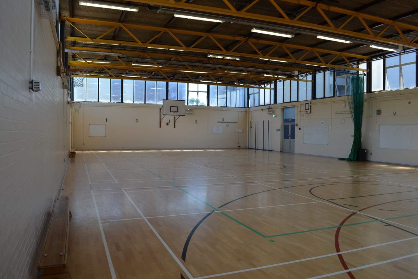 Harris Academy Bermondsey Indoor basketball court