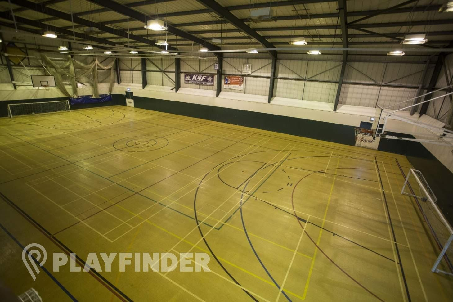 Nescot College Indoor basketball court