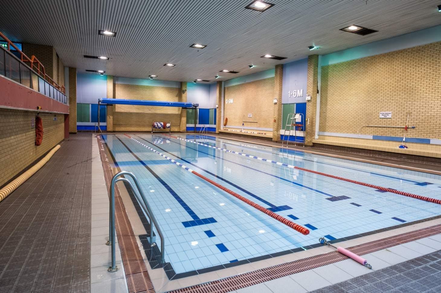 Clarendon Leisure Centre Indoor swimming pool