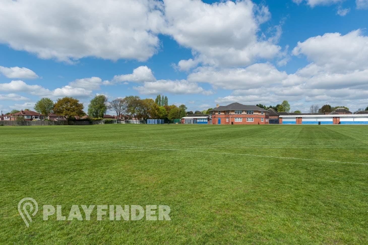 Sale High School 11 a side   Grass football pitch