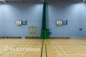 Oasis Academy MediaCityUK | Hard Badminton Court