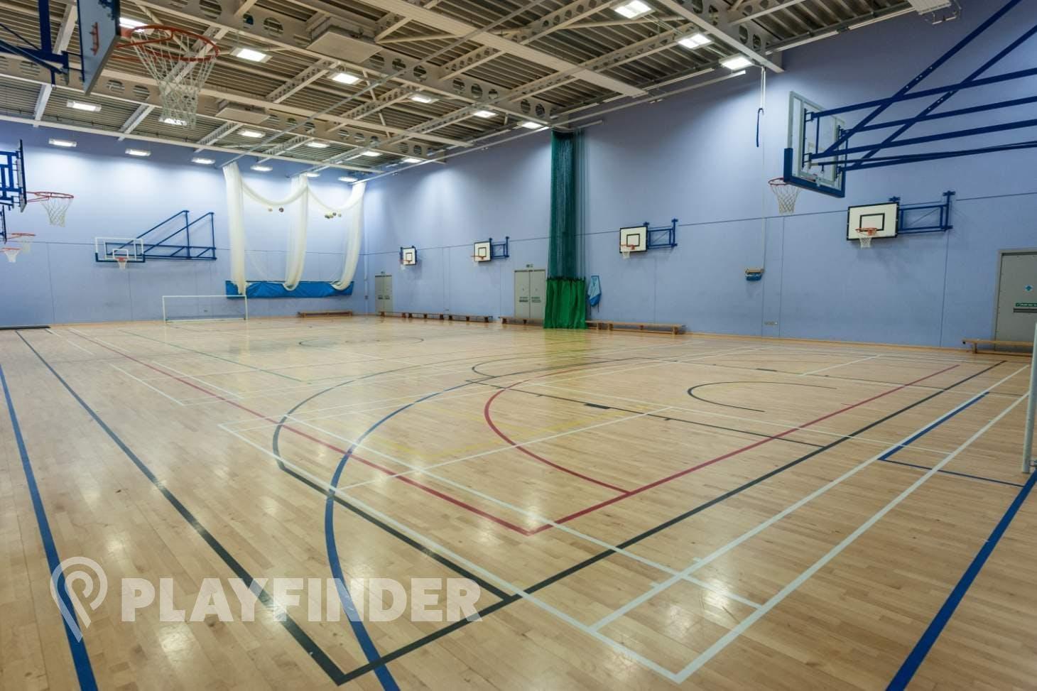 Oasis Academy MediaCityUK Indoor | Hard badminton court