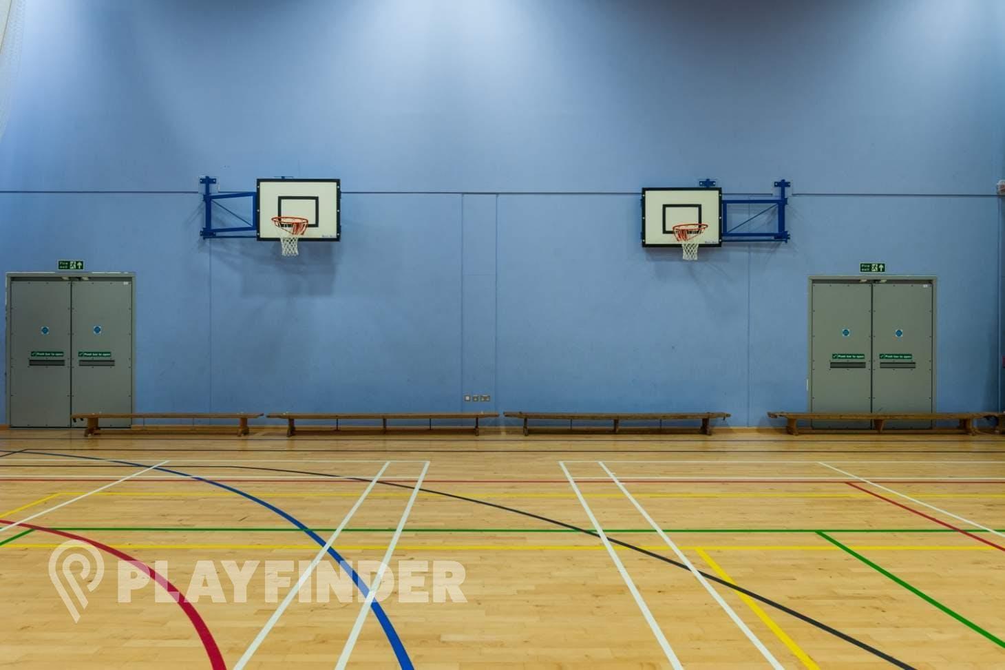 Oasis Academy MediaCityUK Indoor netball court