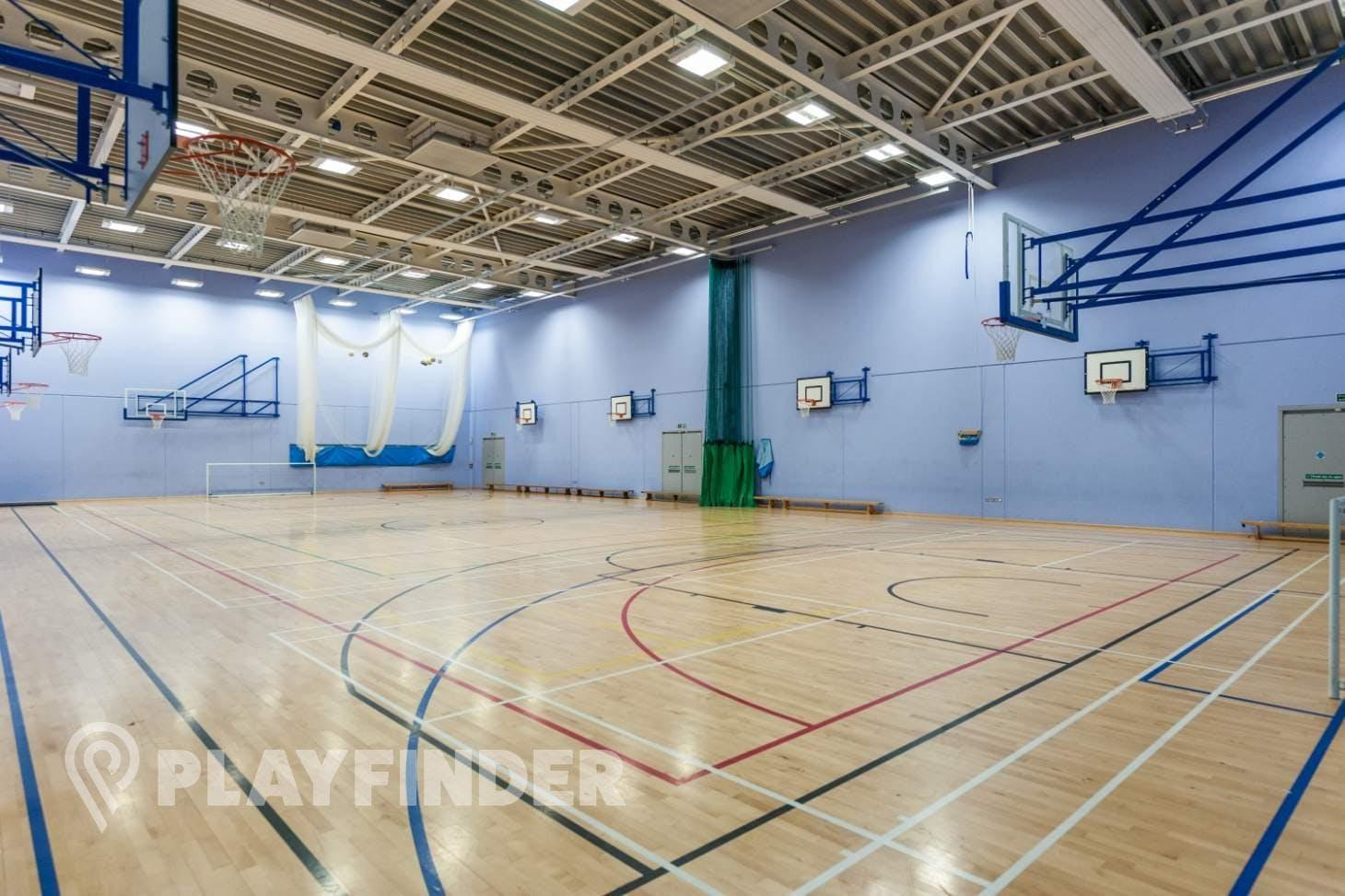 Oasis Academy MediaCityUK Indoor basketball court