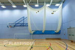 Oasis Academy MediaCityUK | Sports hall Cricket Facilities
