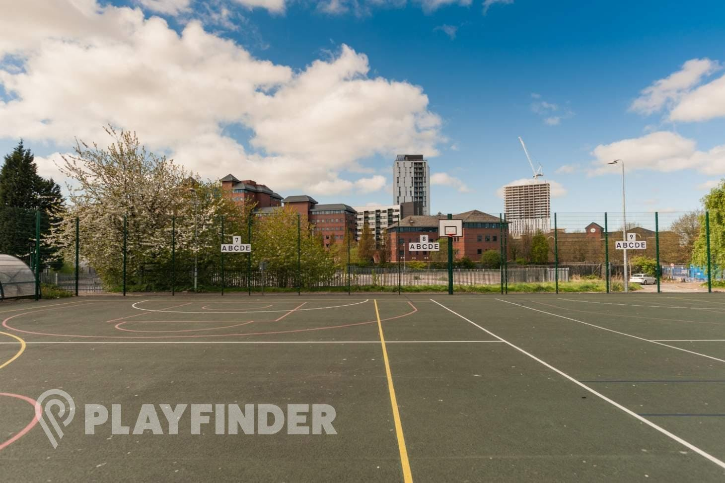 Oasis Academy MediaCityUK Outdoor | Hard (macadam) netball court