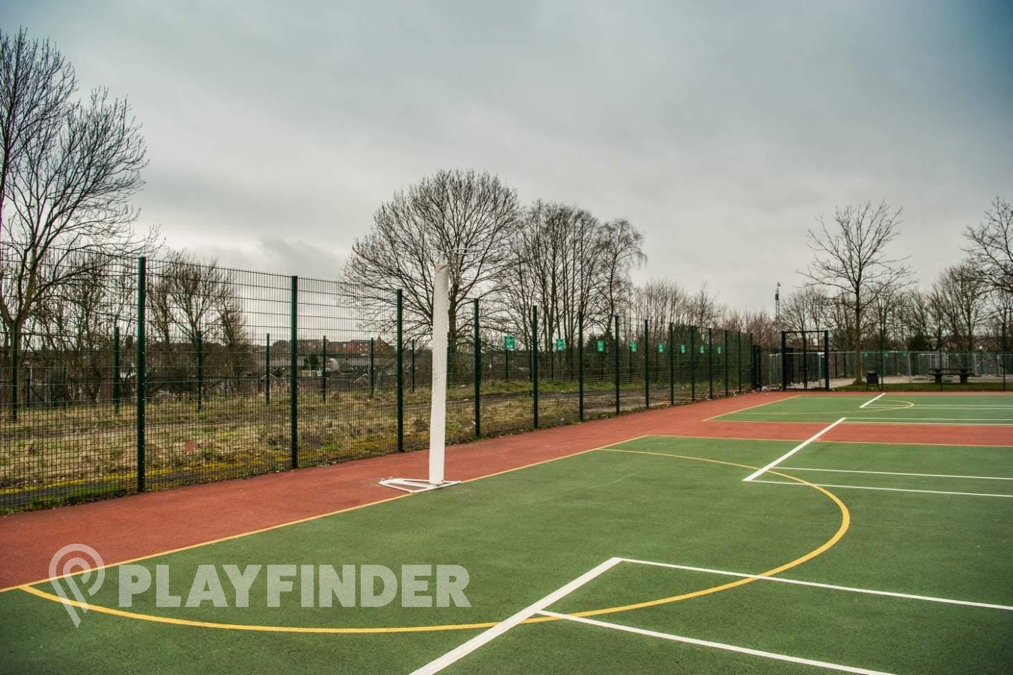 Abraham Moss Community School Outdoor | Hard (macadam) netball court