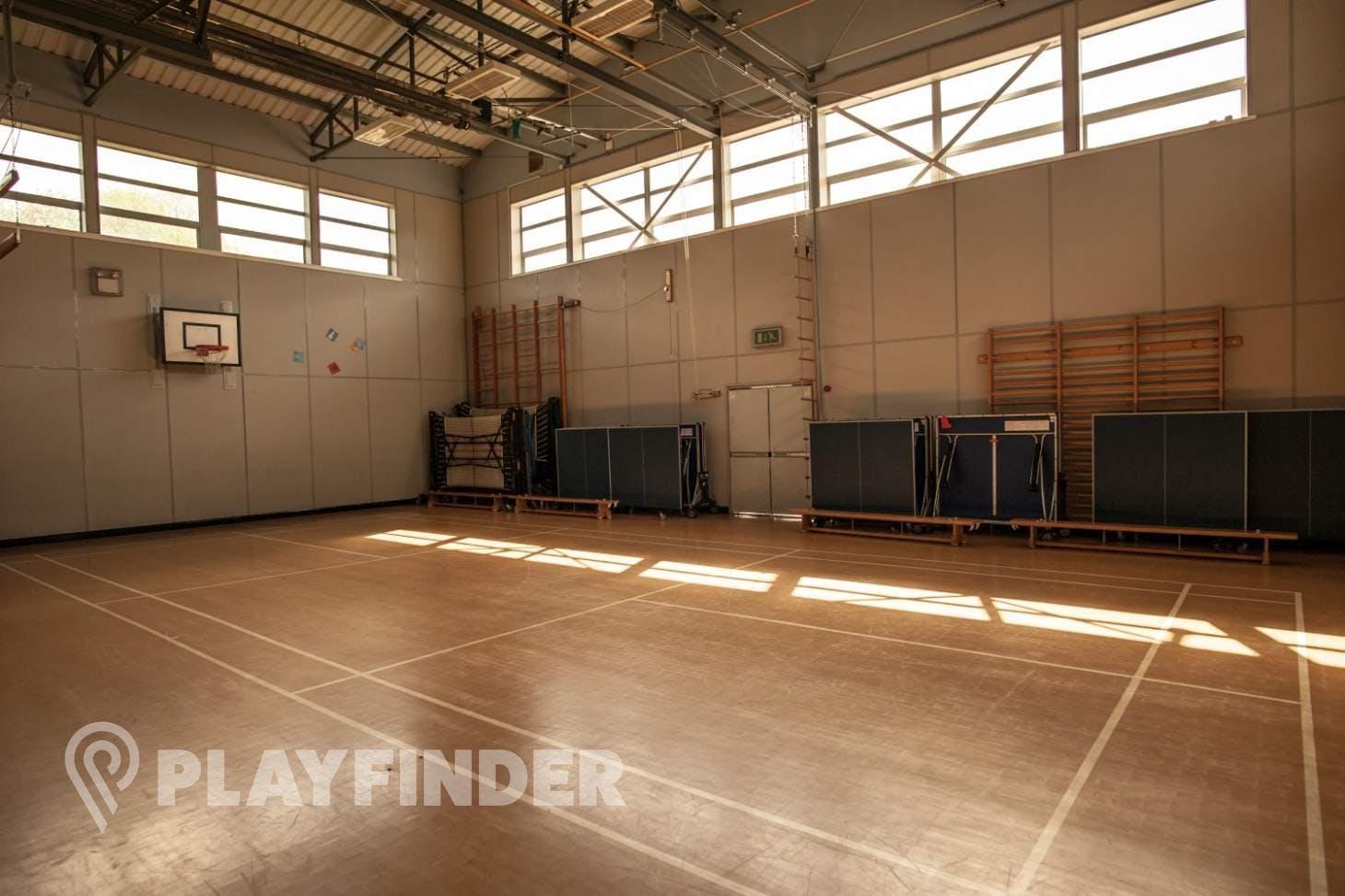 Chorlton High School Indoor | Hard badminton court