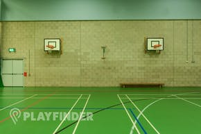 Chorlton High School | Indoor Basketball Court