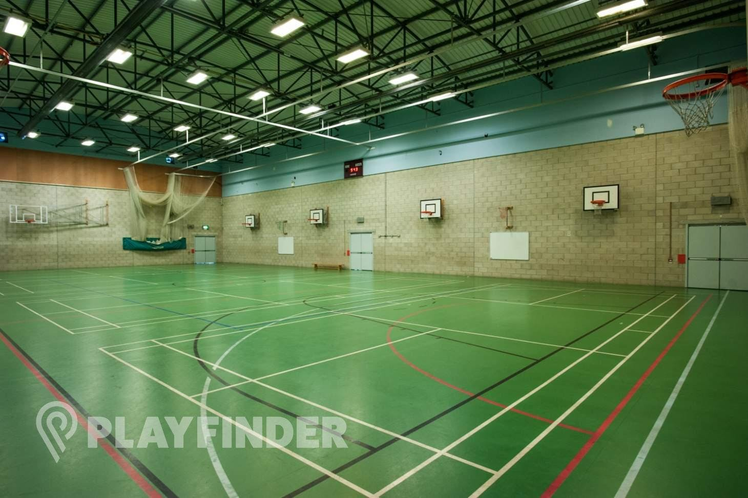 Chorlton High School Nets | Sports hall cricket facilities