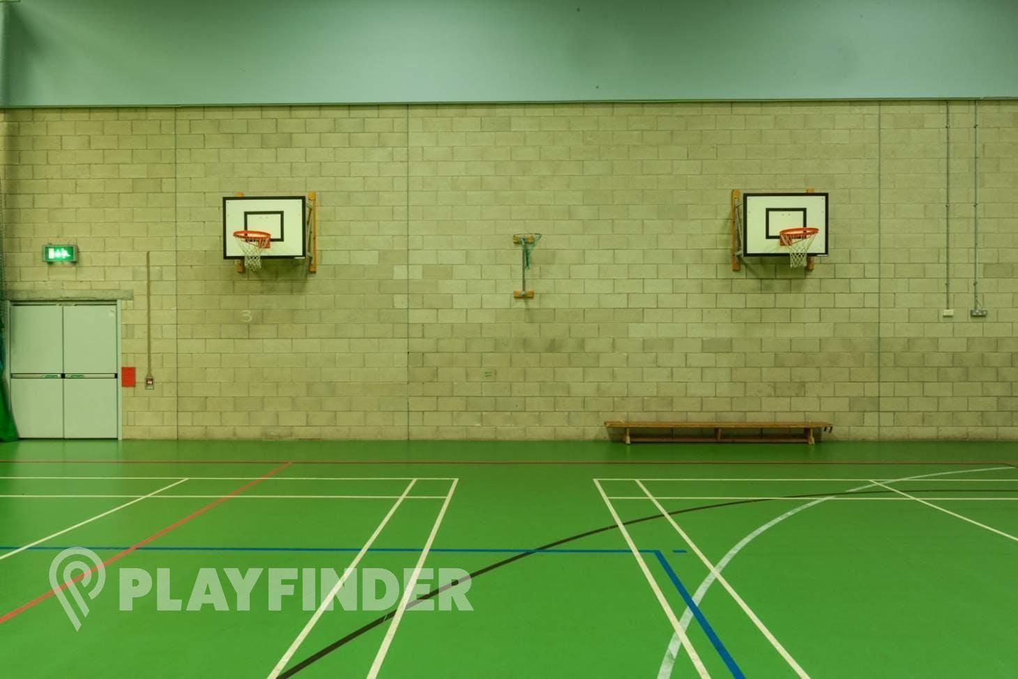 Chorlton High School Indoor netball court