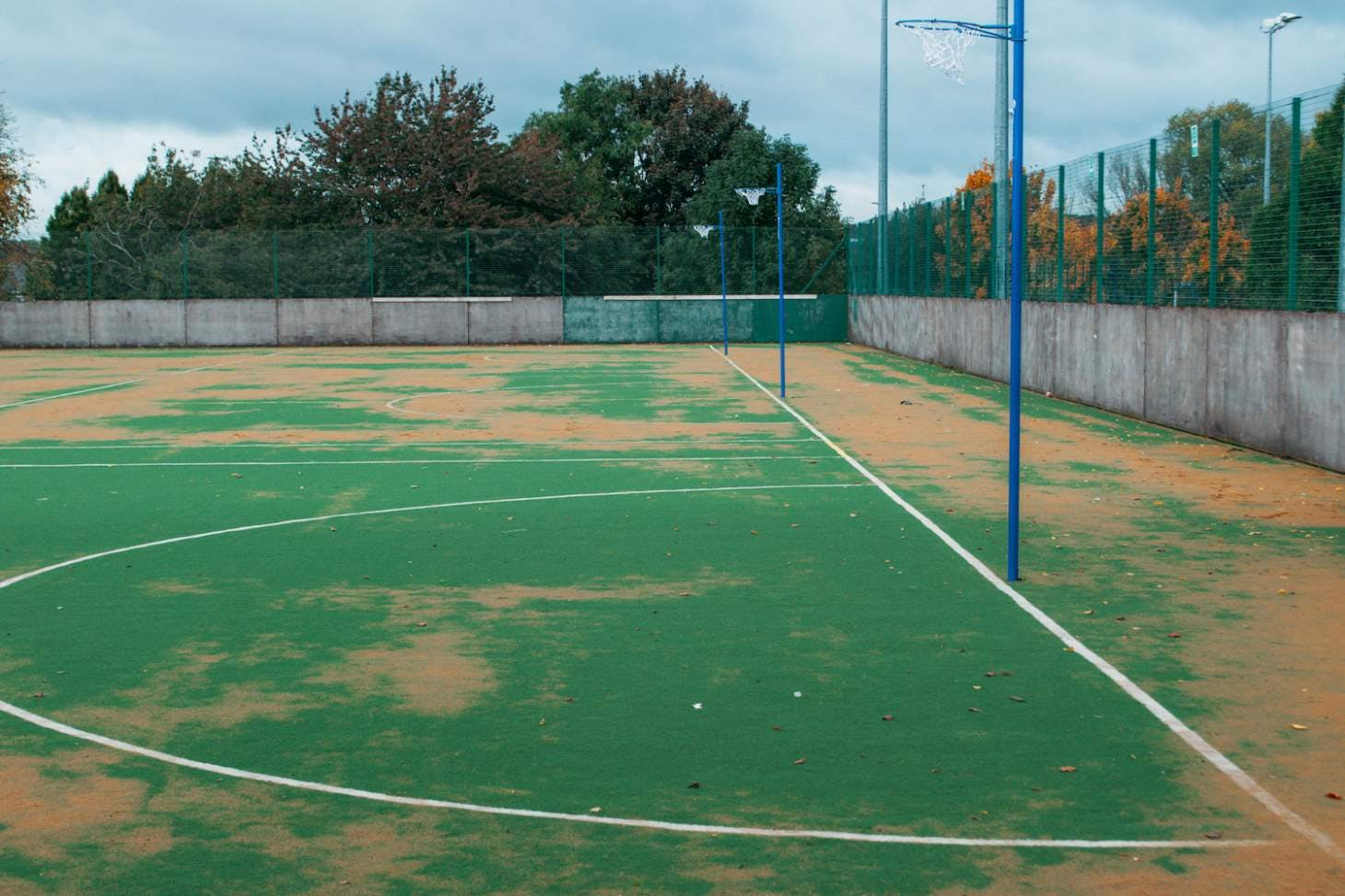 The Albion Academy Court   Sand-based Astroturf netball court