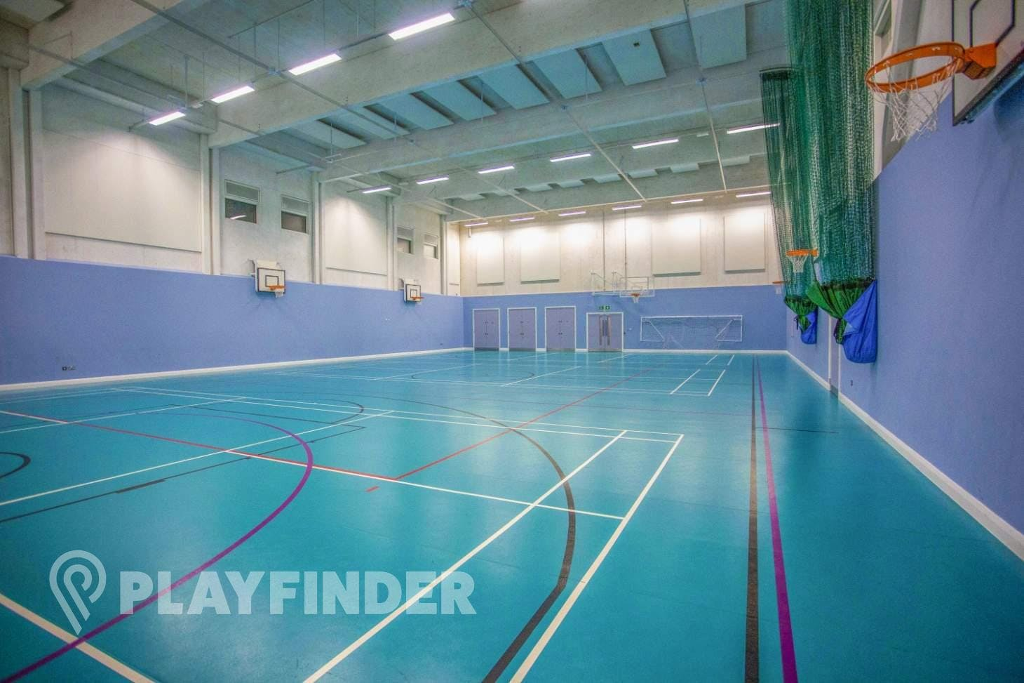 Mossbourne Victoria Park Academy Indoor basketball court