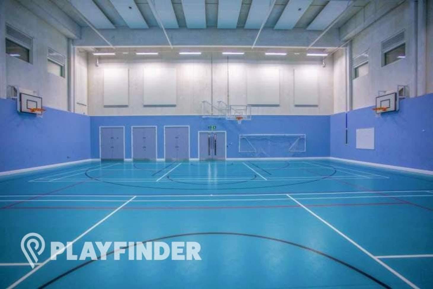 Mossbourne Victoria Park Academy Indoor | Hard badminton court
