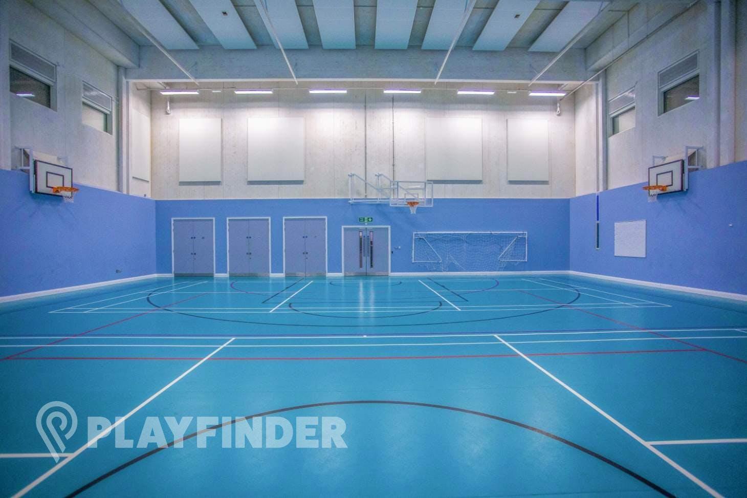 Mossbourne Victoria Park Academy Indoor netball court