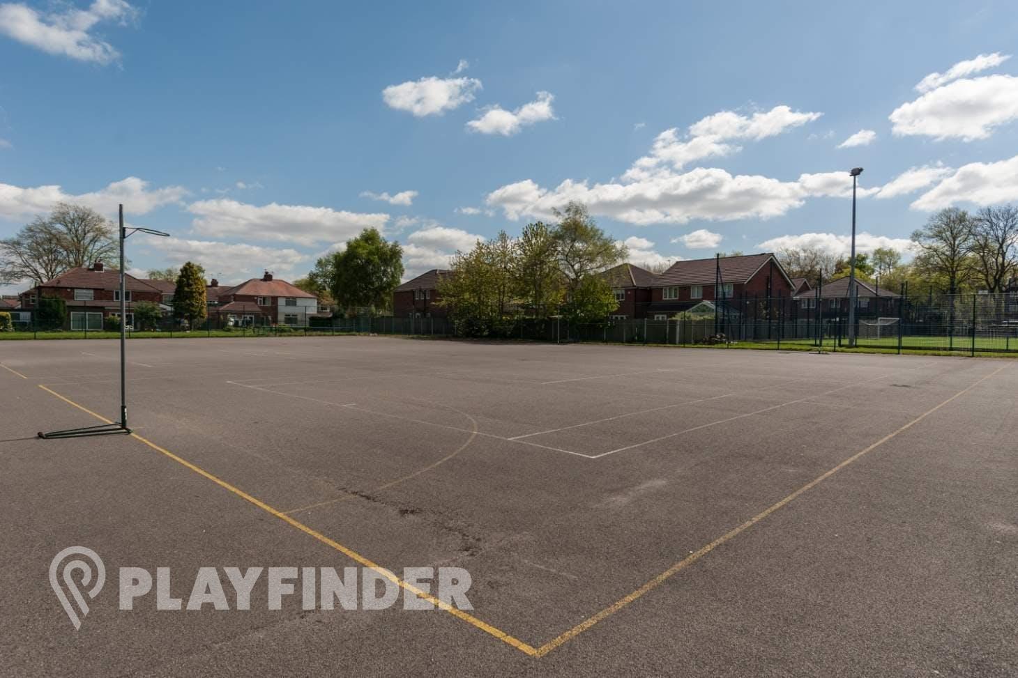 Flixton Girls School Outdoor | Concrete tennis court