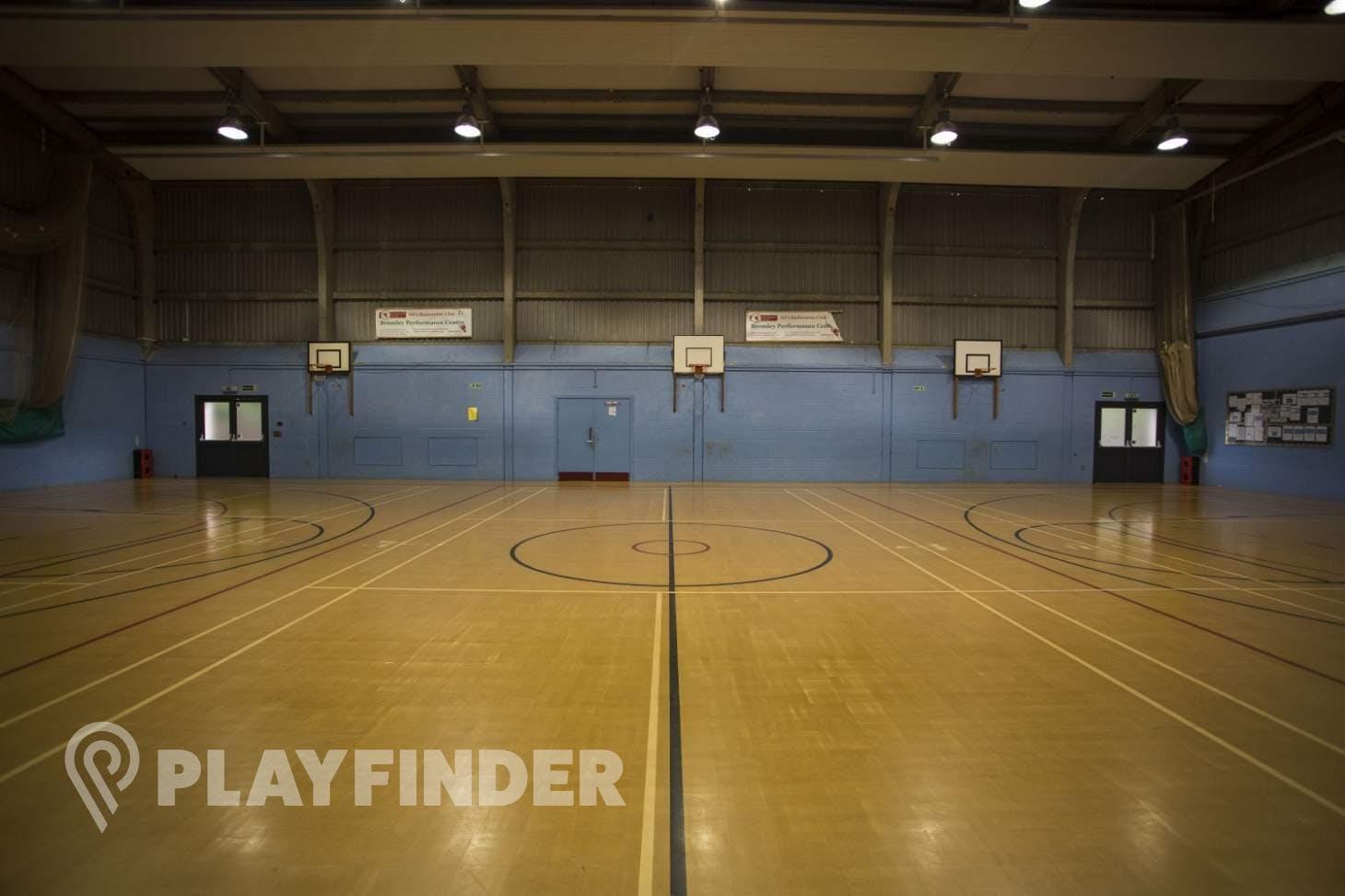 Harris Academy Orpington Indoor   Hard badminton court