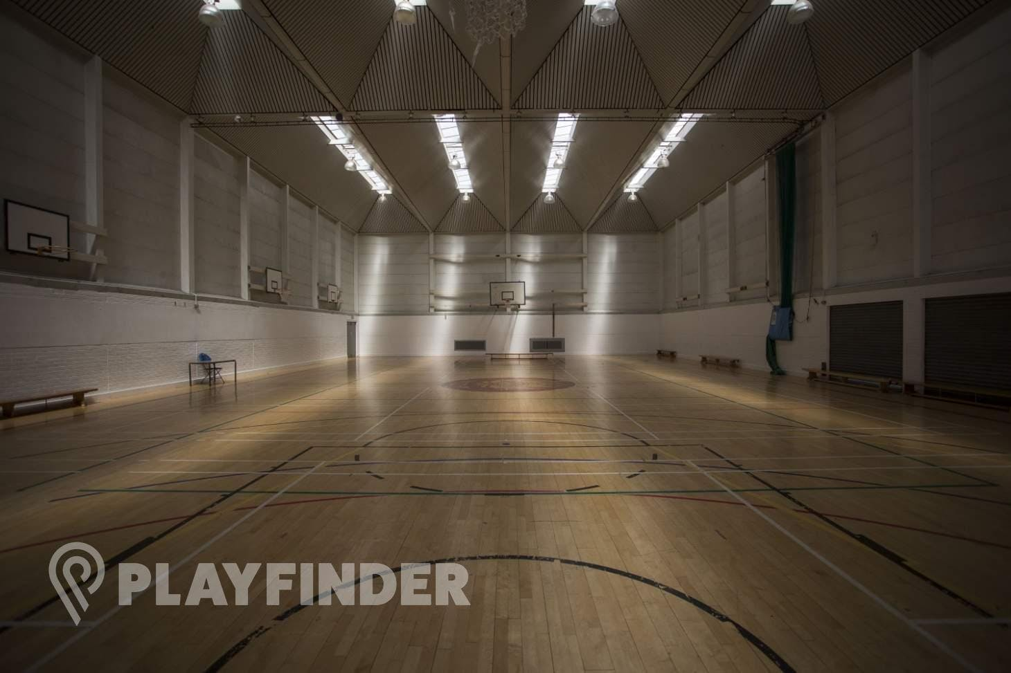 Acland Burghley School Indoor netball court