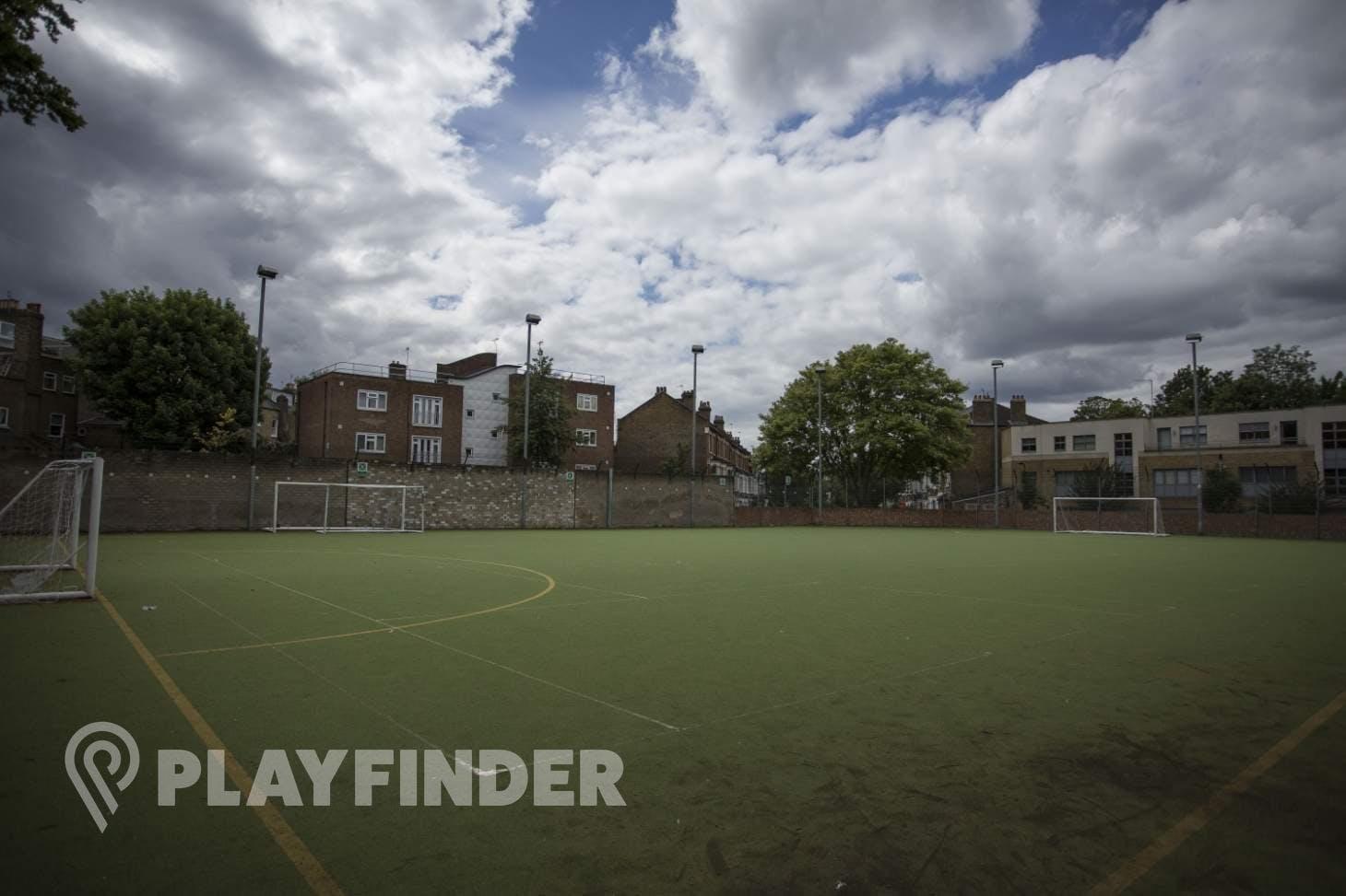 Acland Burghley School 7 a side   Astroturf football pitch