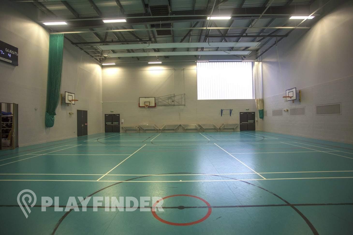 Ark All Saints Academy Indoor netball court