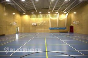 Ark Putney Academy | Hard Badminton Court
