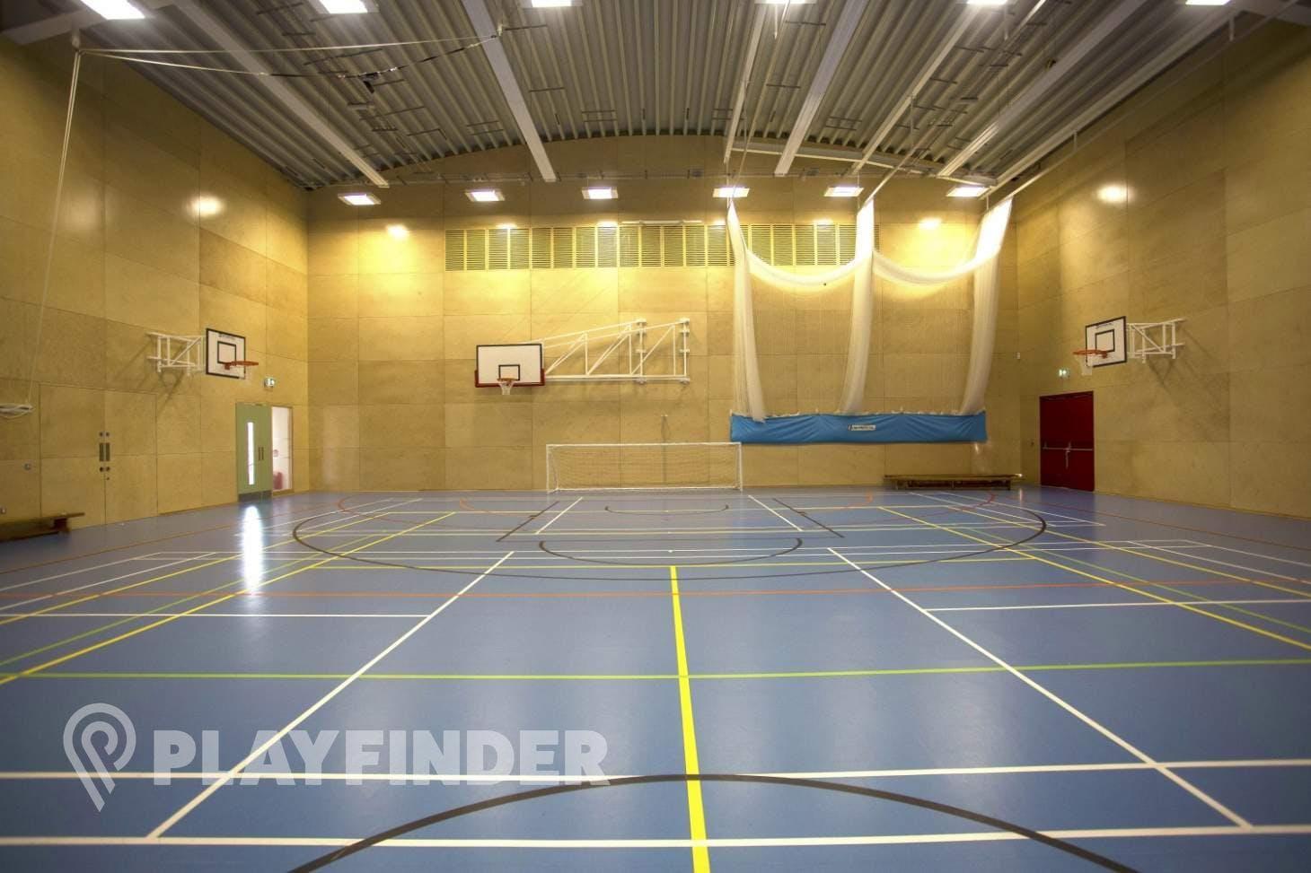 Ark Putney Academy Indoor netball court