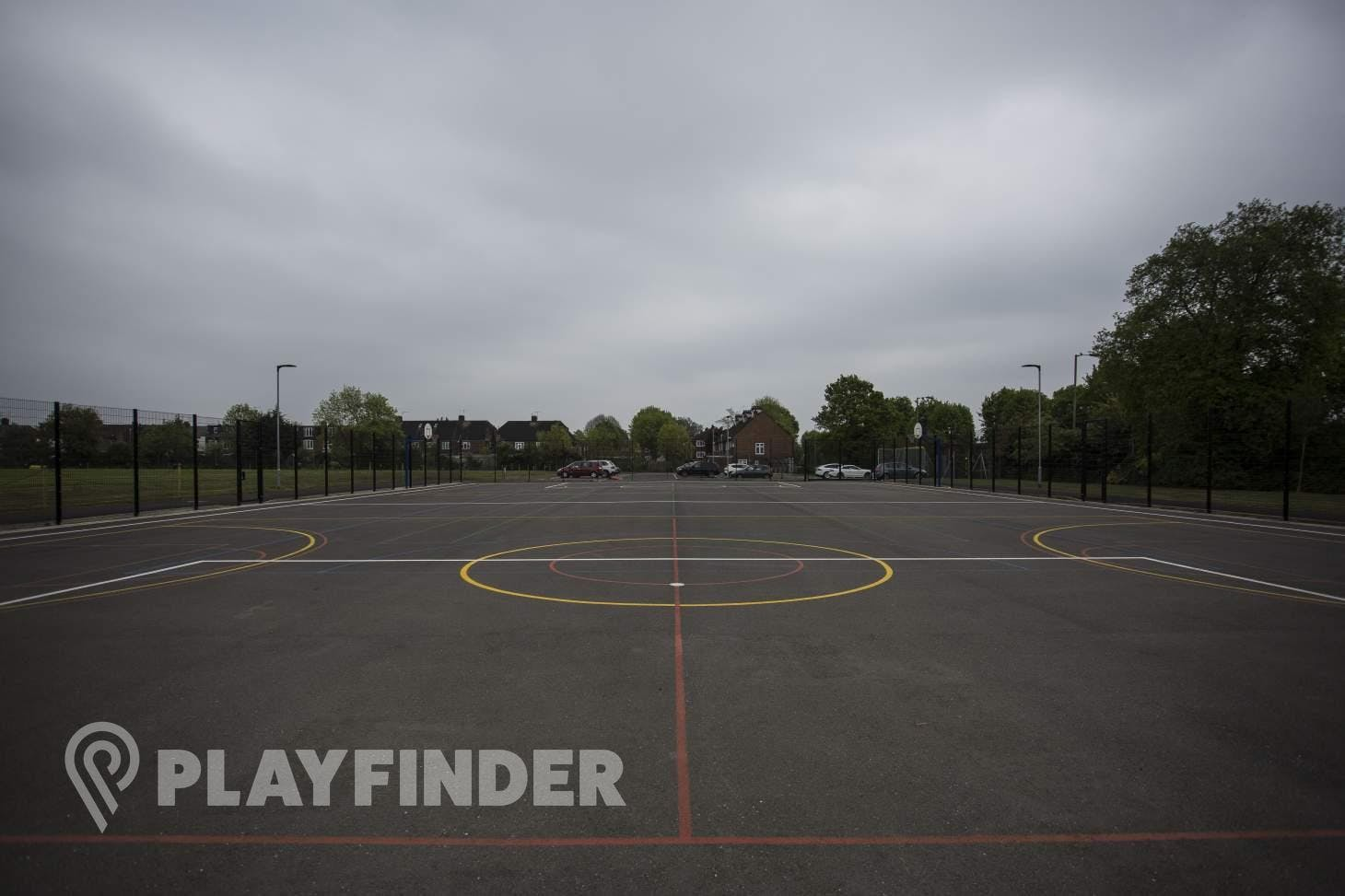 Wren Academy 7 a side | Concrete football pitch