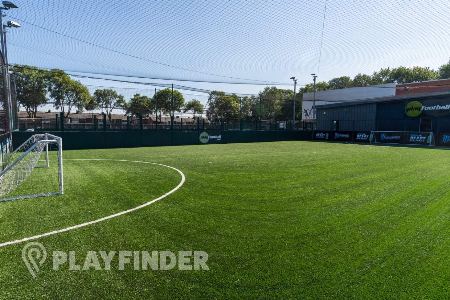 PlayFootball Bury 5 a side | 3G Astroturf football pitch