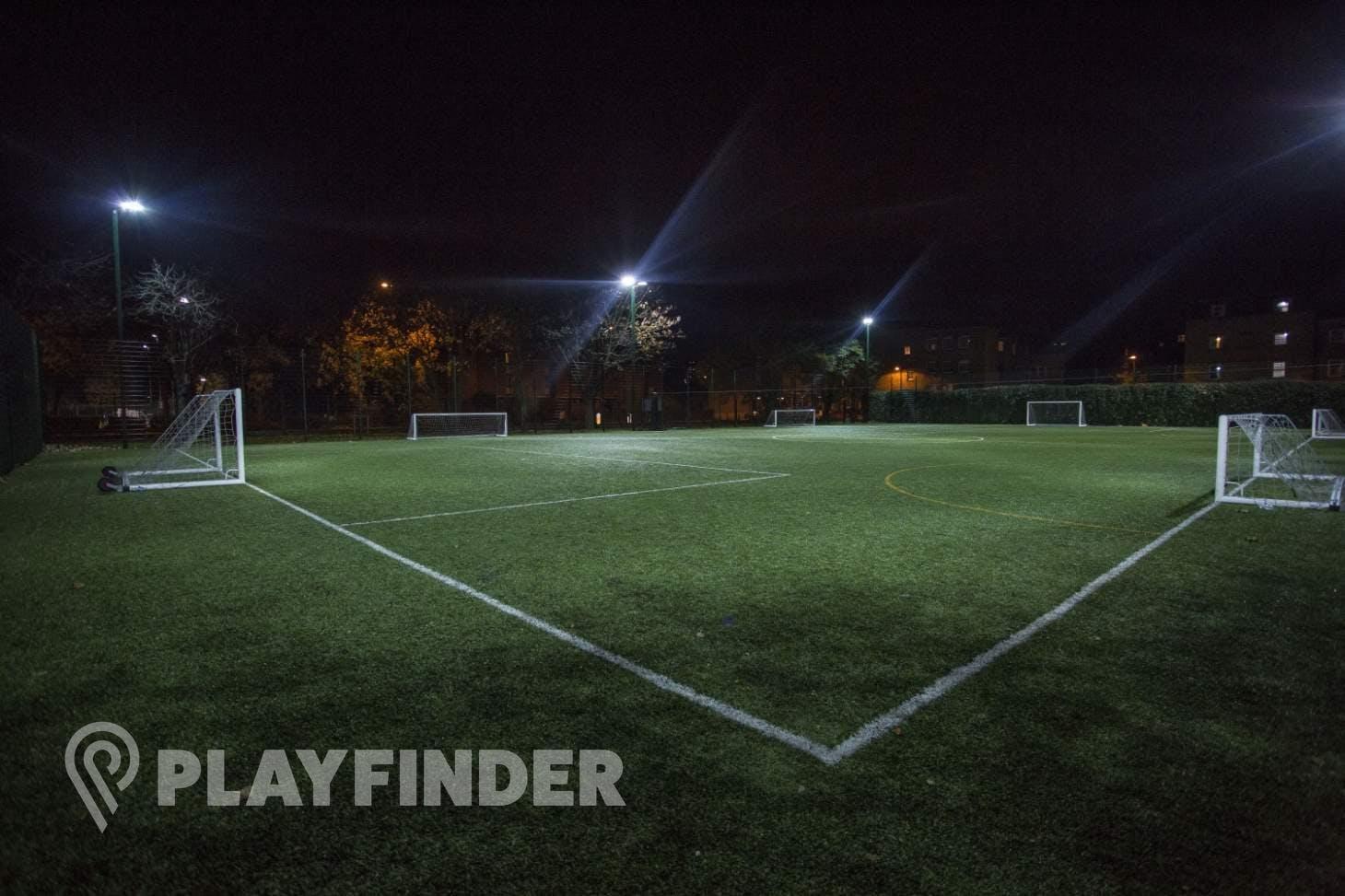 Haggerston School 7 a side | 3G Astroturf football pitch