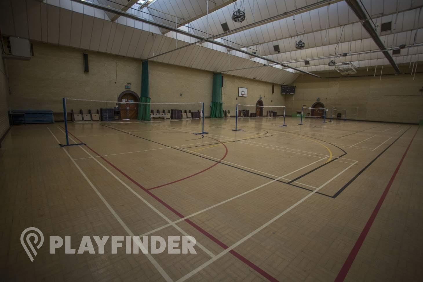 John Orwell Sports Centre Indoor basketball court