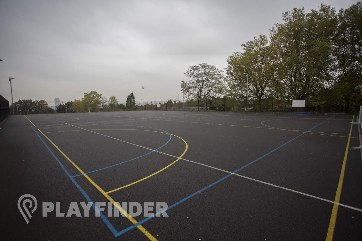 Crest Academy 5 a side | Concrete football pitch