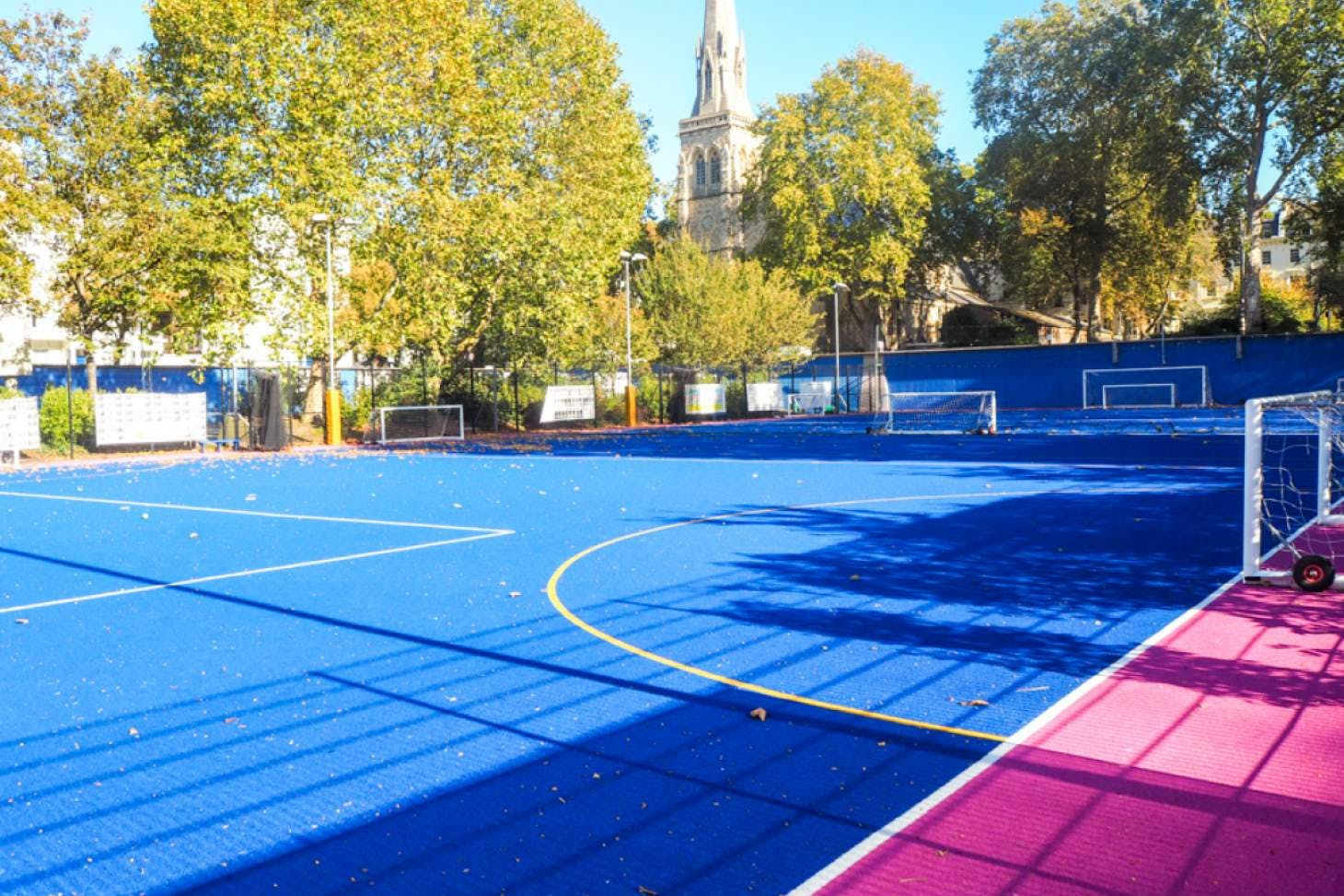 Pimlico Academy School 7 a side   Astroturf football pitch