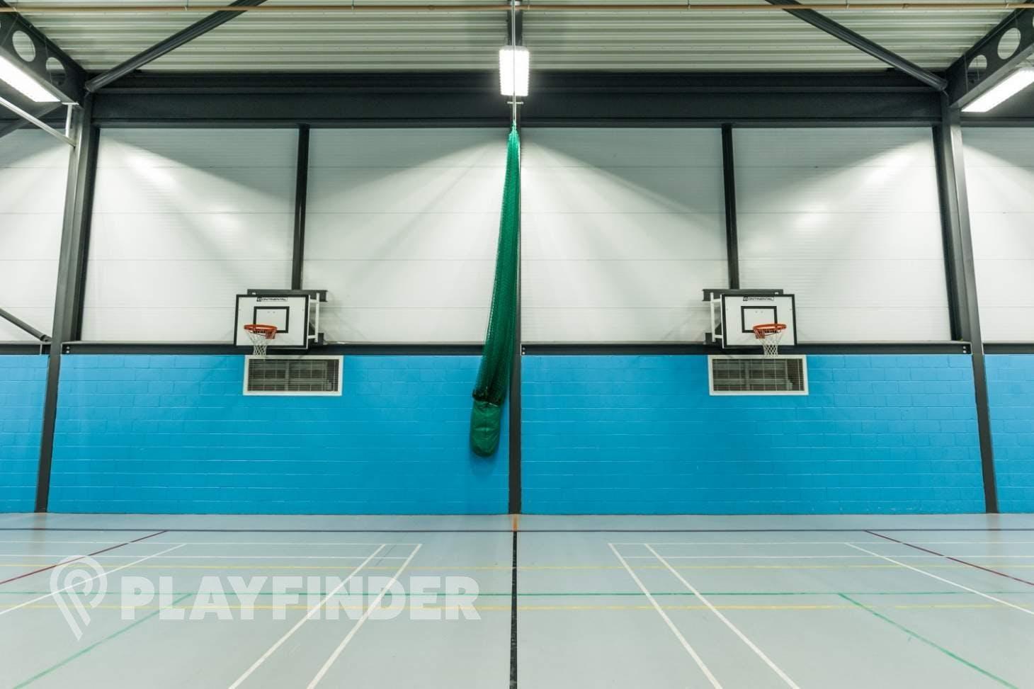The Energy Box Indoor netball court