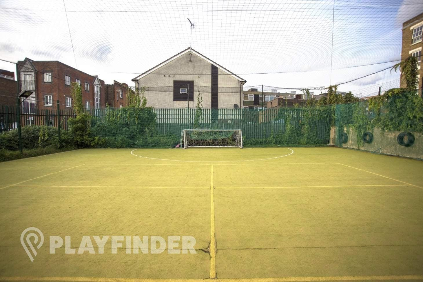 Weavers Adventure Playground Outdoor | Astroturf hockey pitch