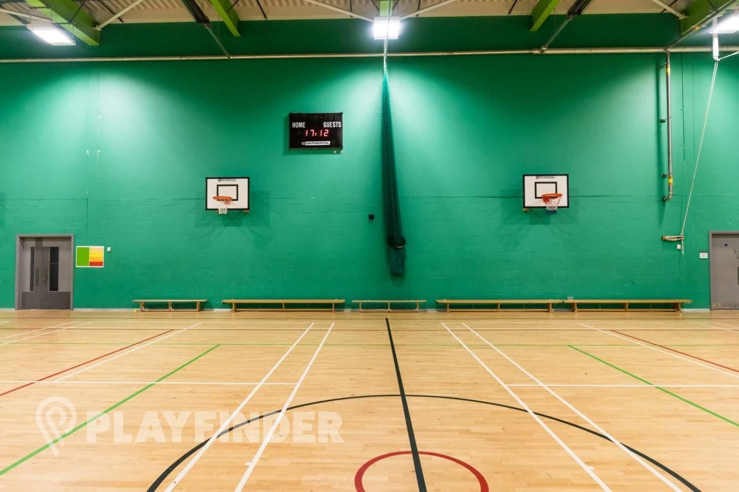 East Manchester Academy Indoor basketball court
