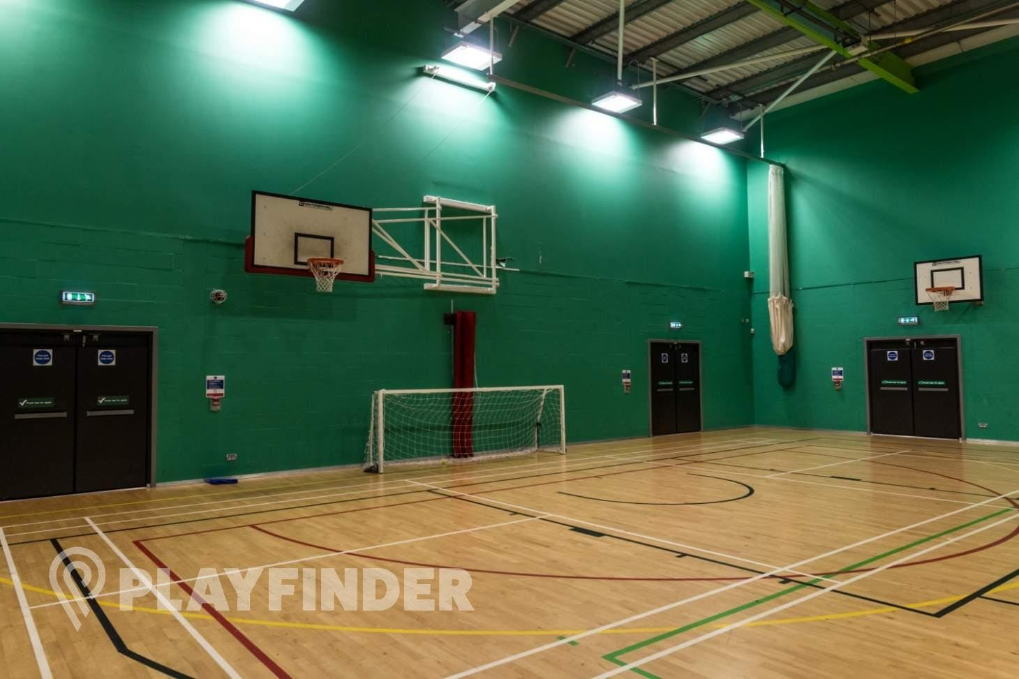 East Manchester Academy Indoor netball court