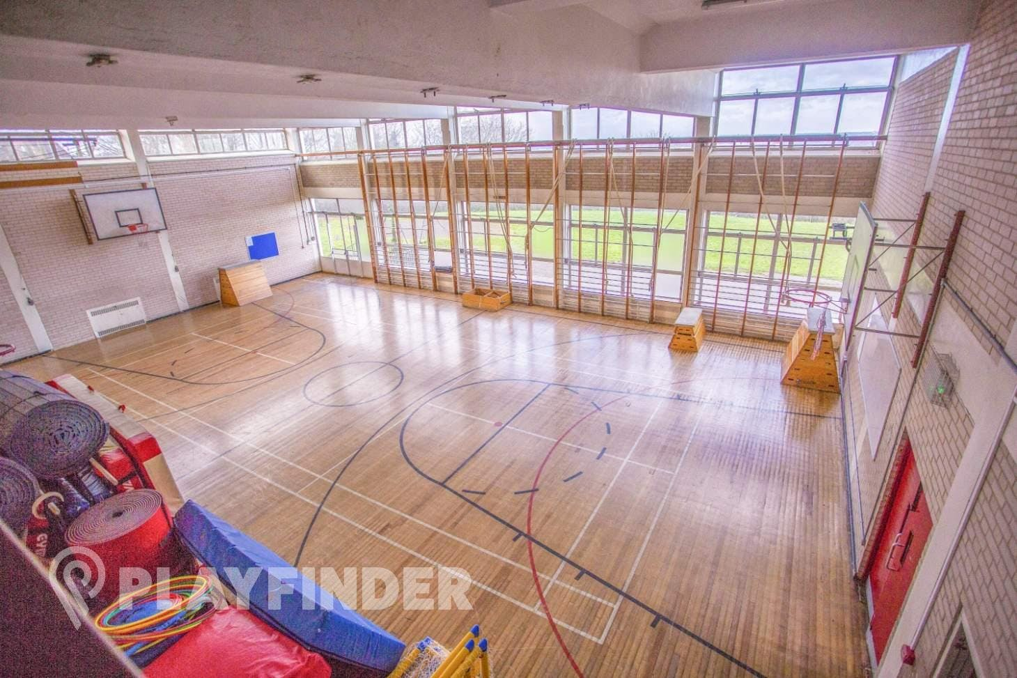 Bishop Thomas Grant School Indoor basketball court