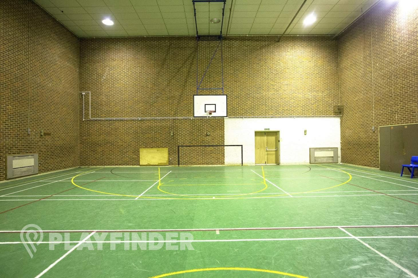 Christ's College Finchley Indoor basketball court