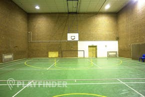 Christ's College Finchley | Hard Badminton Court