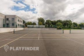 Buile Hill School | Concrete Tennis Court