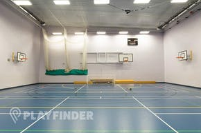 Buile Hill School | Hard Badminton Court