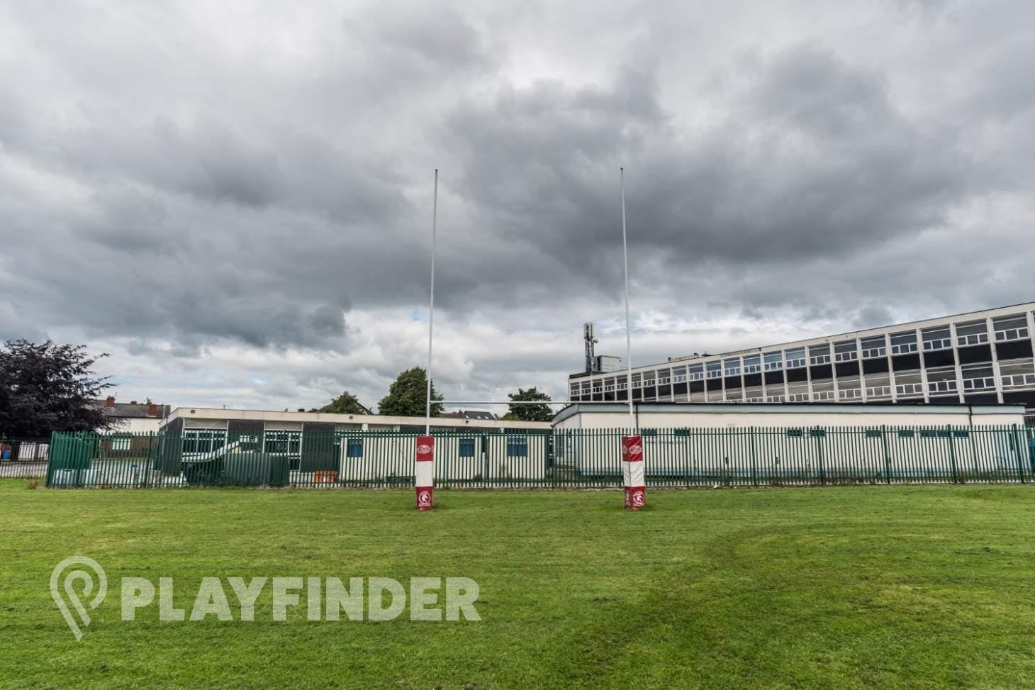 Buile Hill School Union | Grass rugby pitch