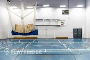 Harrop Fold School | Hard Badminton Court