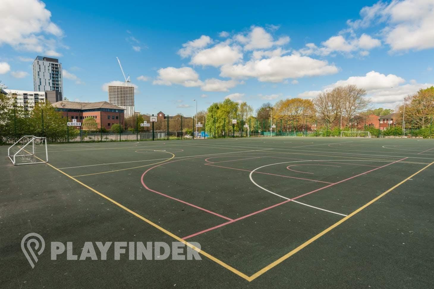 Oasis Academy MediaCityUK 5 a side | Concrete football pitch