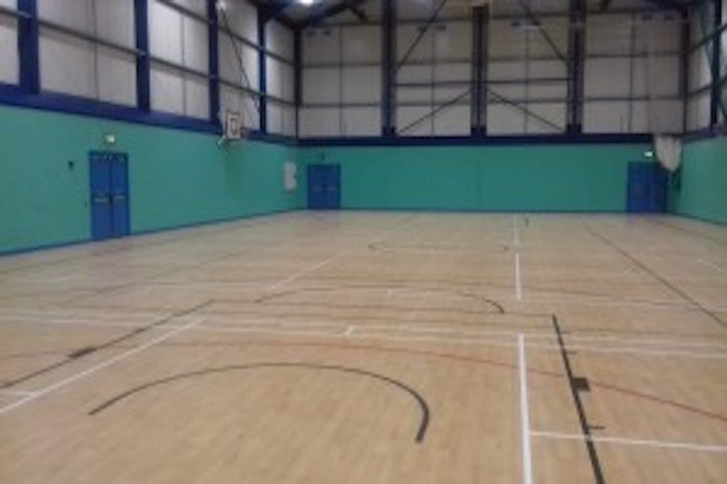 Manchester Enterprise Academy Wythenshawe Indoor netball court