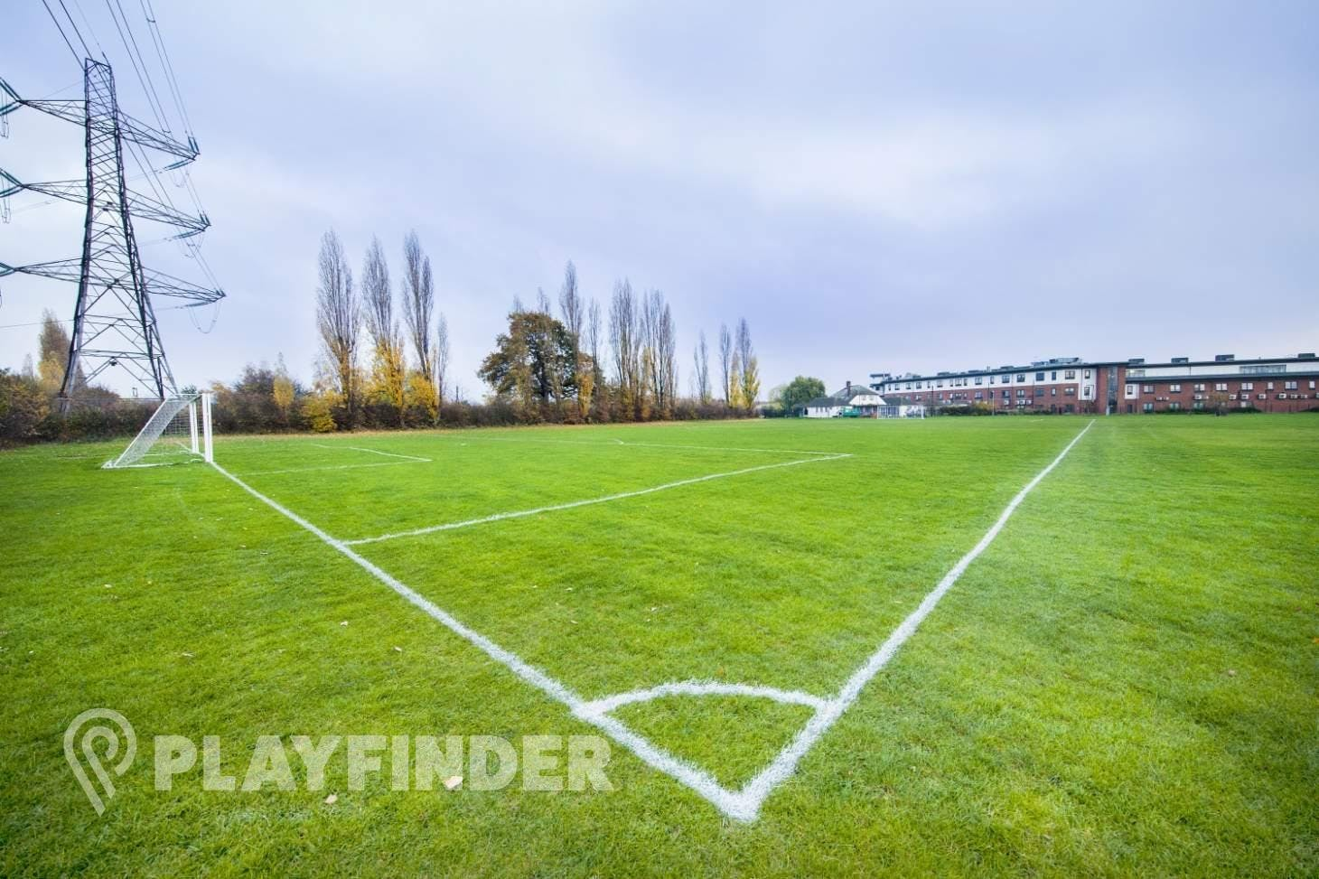 Britannia Playing Fields 11 a side | Grass football pitch