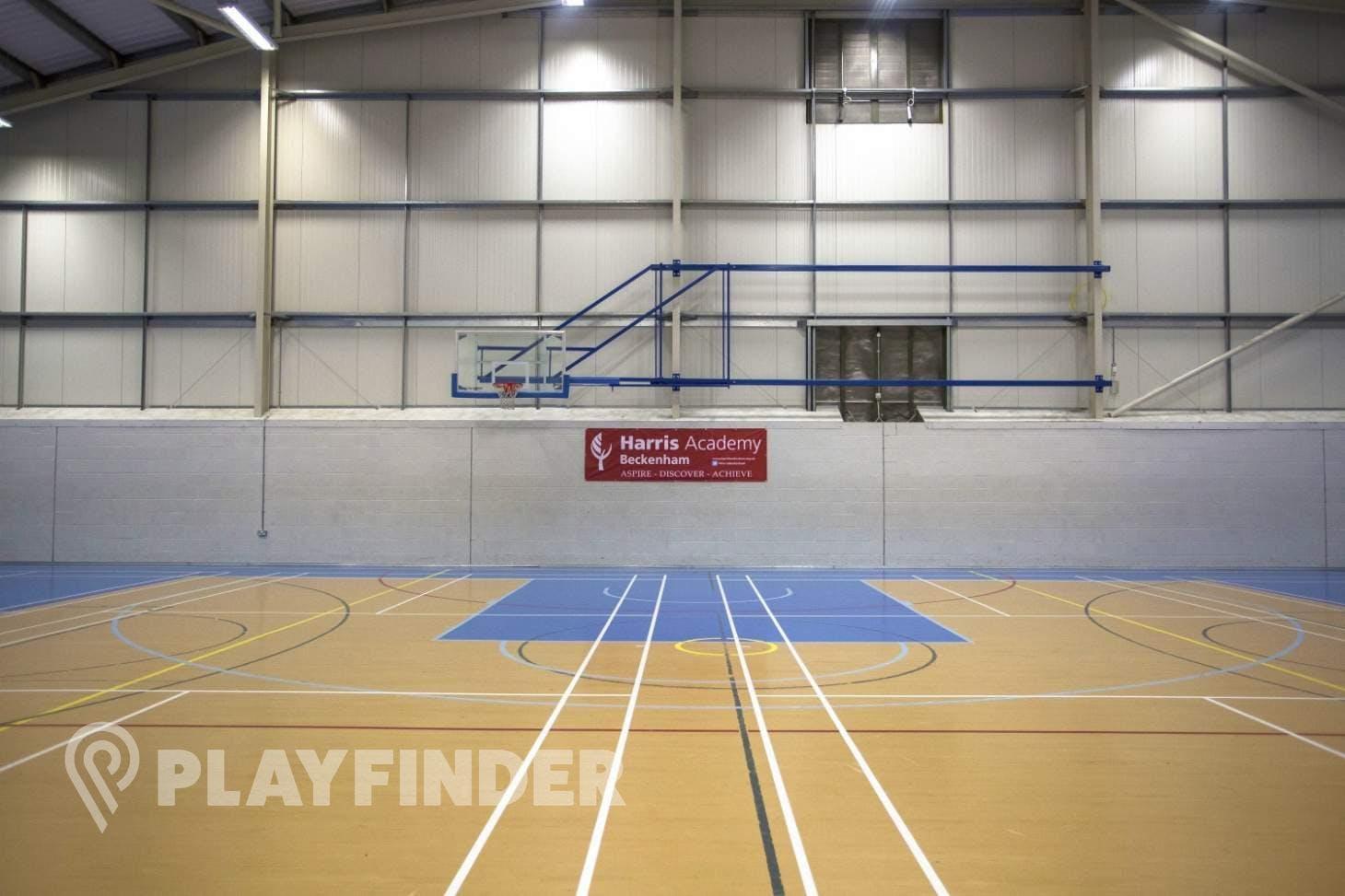 Harris Academy Beckenham Indoor netball court